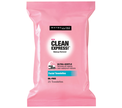maybelline's new clean express makeup remover wipes my